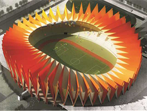 安徽省铜陵市体育中心主体育场、体育馆